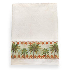 Spice Palm Bath Towel