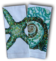 Starfish and Turban Towel Set