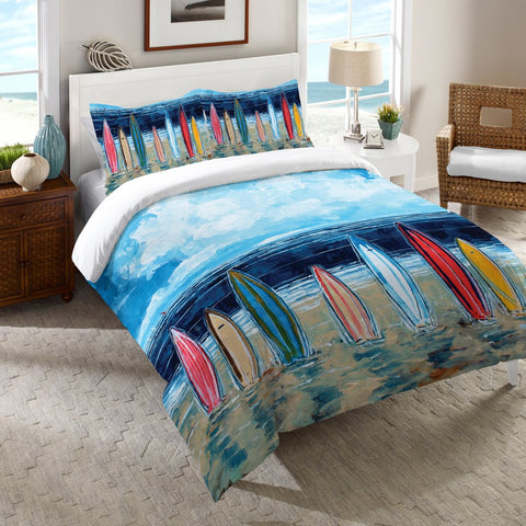 Surfboards Duvet Cover