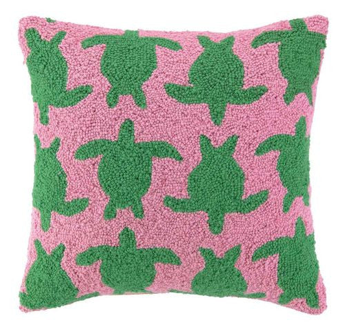 Turtle Stampede Hook Pillow- Backordered Item