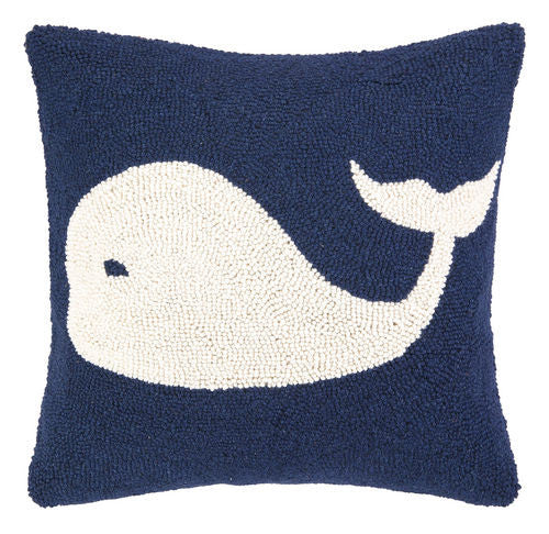 Whale Hook Pillow- Backordered Item!