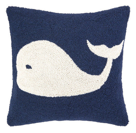Whale Hook Pillow