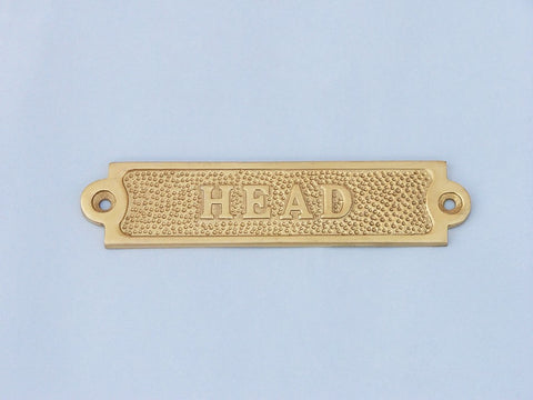 Brass Head Sign 6