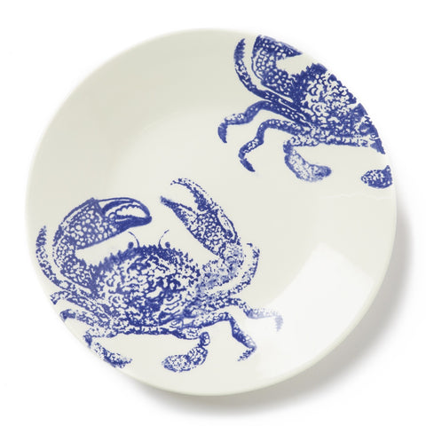 Costiera Blue Crab Dinner Plate