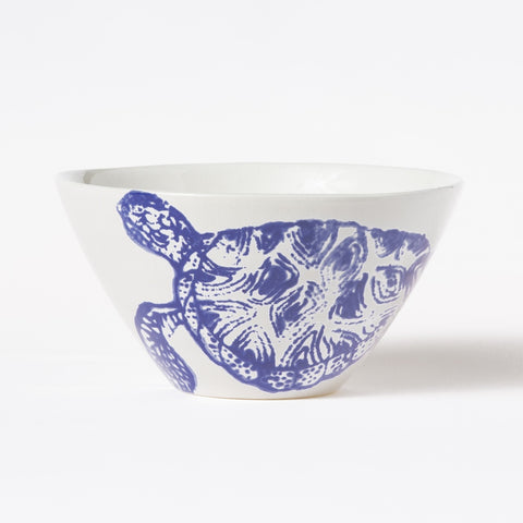 Costiera Blue Turtle Cereal Bowl