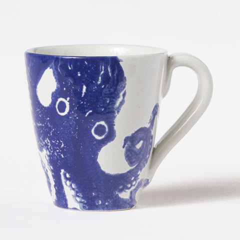 Costiera Blue Octopus Mug