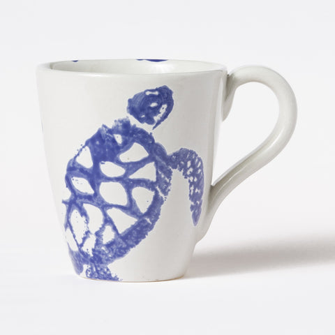 Costiera Blue Turtle Mug