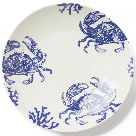 Costiera Blue Crab Large Serving Bowl