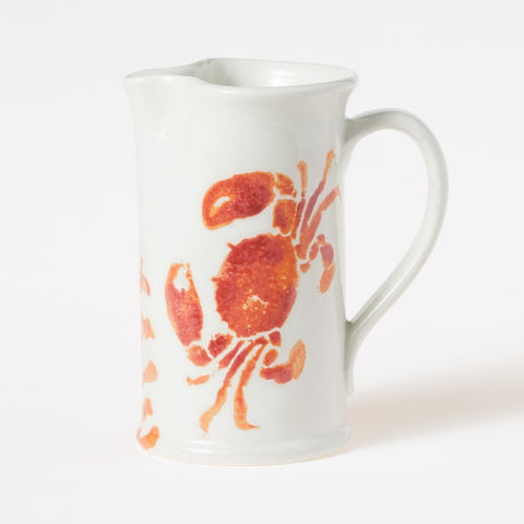 Costiera Coral Crab Small Pitcher