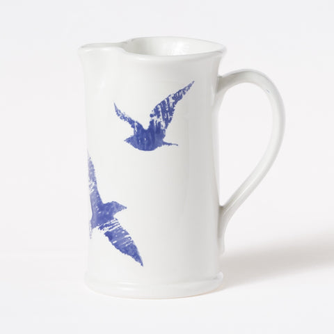 Costiera Blue Seagull Small Pitcher