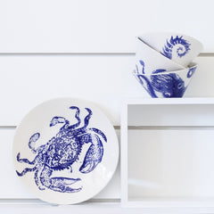 Costiera Blue Octopus Small Bowl