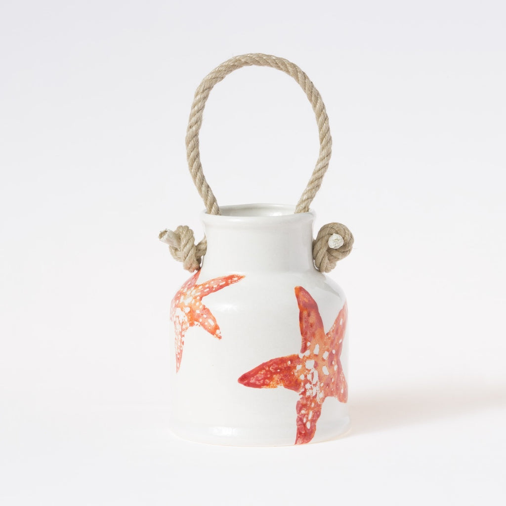 Costiera Coral Starfish Utensil Holder