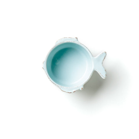 Lastra Fish Aqua Condiment Bowl
