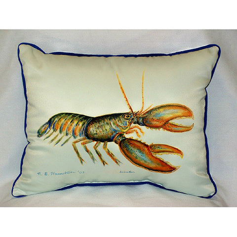 Betsy Drake Lobster Pillow- Indoor/Outdoor