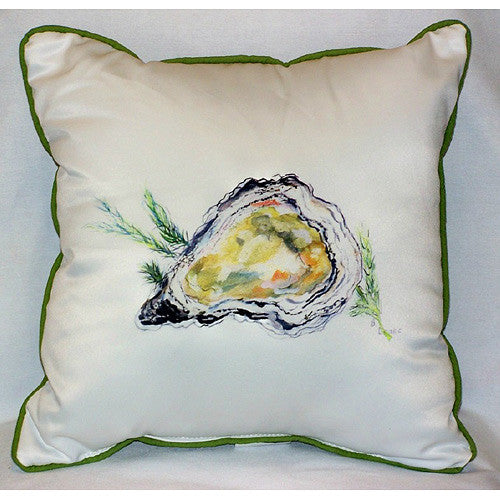 Betsy Drake Oyster Pillow- Indoor/ Outdoor
