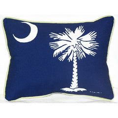 Betsy Drake Palmetto Moon Pillow- Indoor/Outdoor