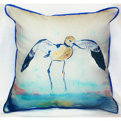 Betsy's Avocet Pillow- Indoor/Outdoor