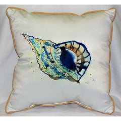Betsy's Shell Pillow- Indoor/Outdoor