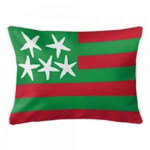 Beach Flag Lumbar Pillow - Holiday