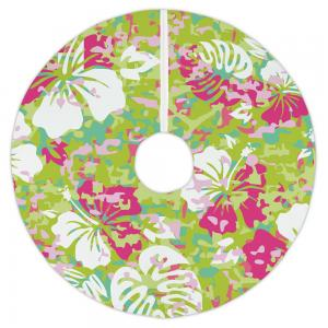 Key West Tropical Christmas Tree Skirt
