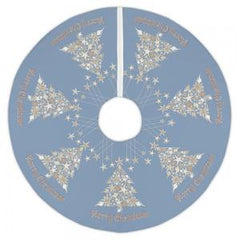 Seashell Christmas Tree Skirt