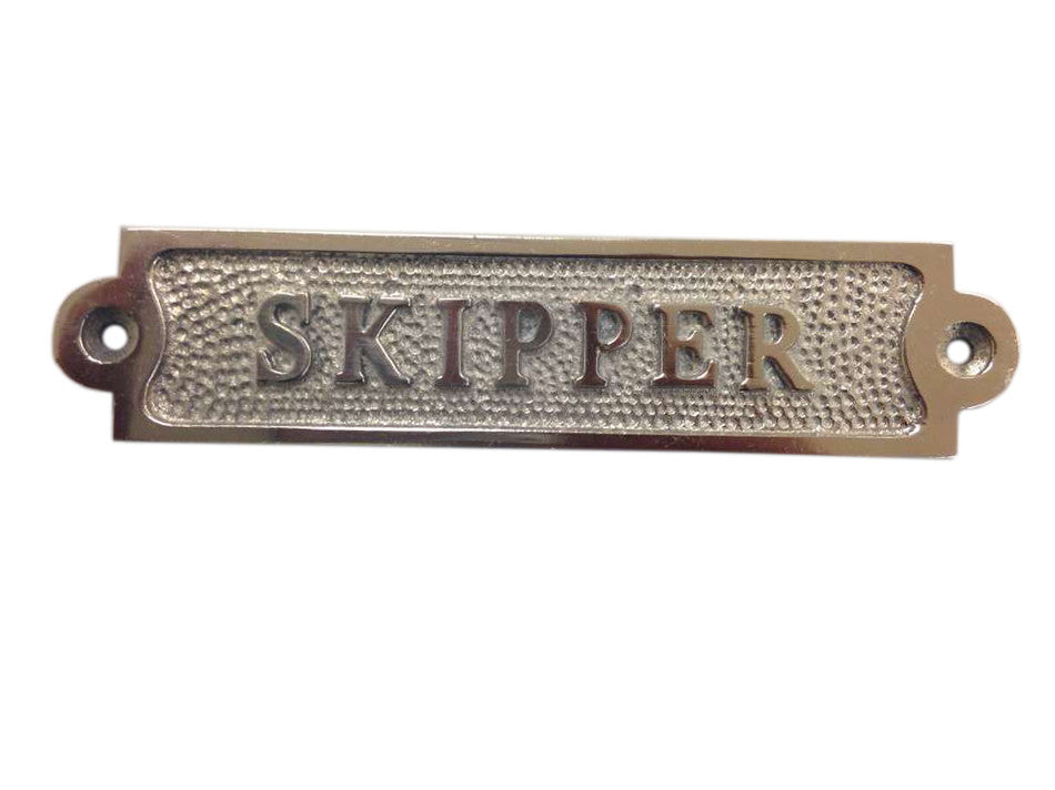 Chrome Skipper Sign 6
