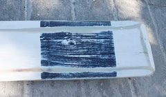 Paddle Wood w/Rope 5'5