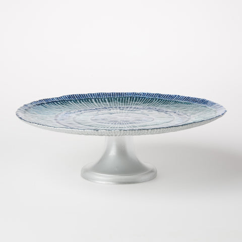 Marea Glass Large Cake Stand