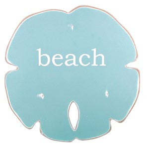 Sand Dollar - Medium - Aqua with