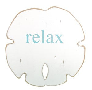 Sand Dollar - Medium - White with