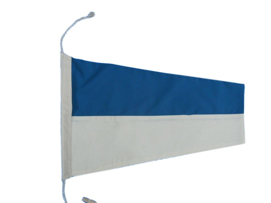 Number 6 - Nautical Cloth Signal Pennant - 20