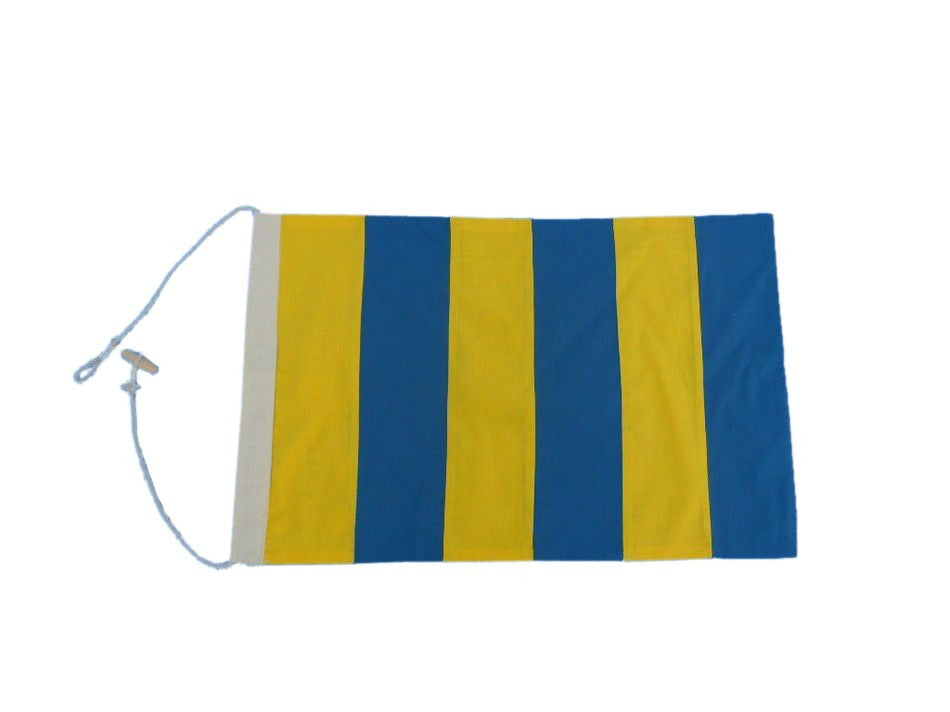 Letter G Cloth Nautical Alphabet Flag - 20