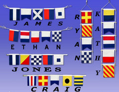 Letter Z Cloth Nautical Alphabet Flag - 20