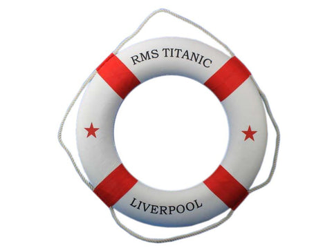RMS Titanic Decorative Lifering 30
