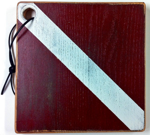 Dive Flag Cutting Board