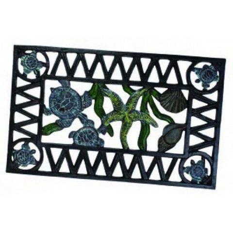 Sea-worn Cast Iron Sea-life Doormat 22