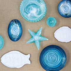 Sea Glass Starfish Dish