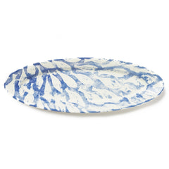 School Of Fish Narrow Oval Platter