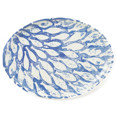 School Of Fish Large Oval Platter