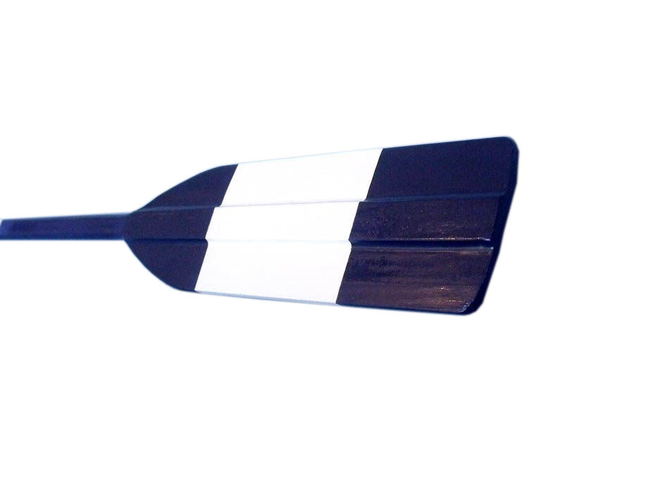 Wooden River City Rowing Club Decorative Square Boat Paddle w/ Hooks 50