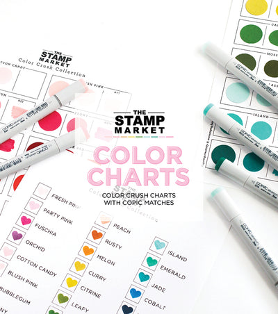 COLOR CRUSH COLOR CHARTS