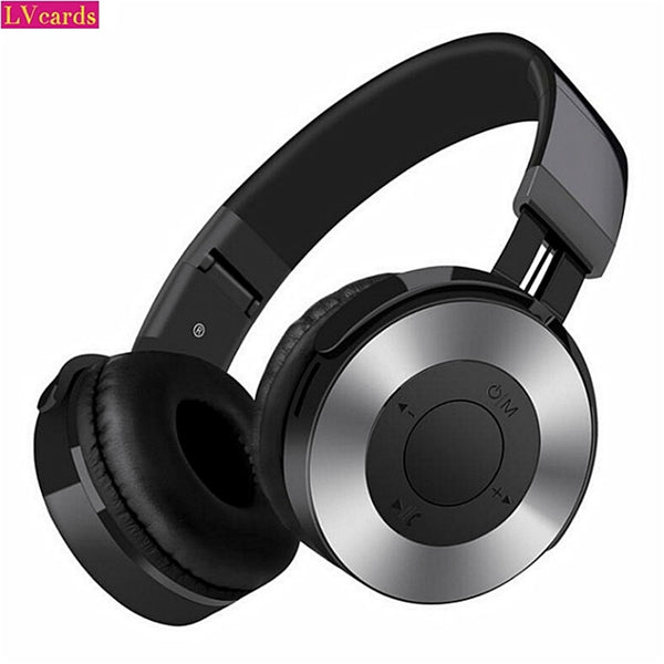 Wireless Headphones Bluetooth Headset Foldable Stereo Gaming Earphones With Microphone For PC