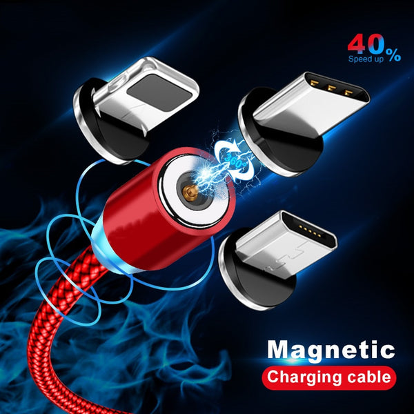 Magnetic Cable lighting 2.4A Fast Magnet Charger