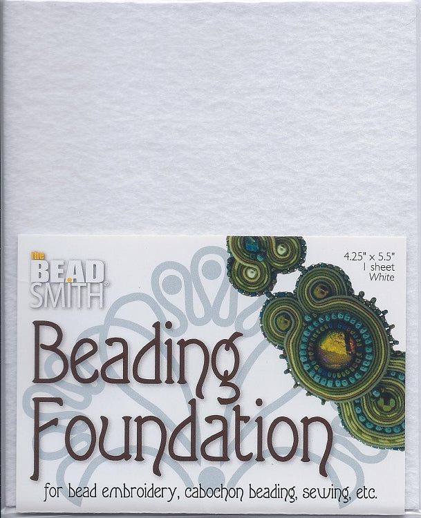 Beading Foundation 4.25x5.5 White