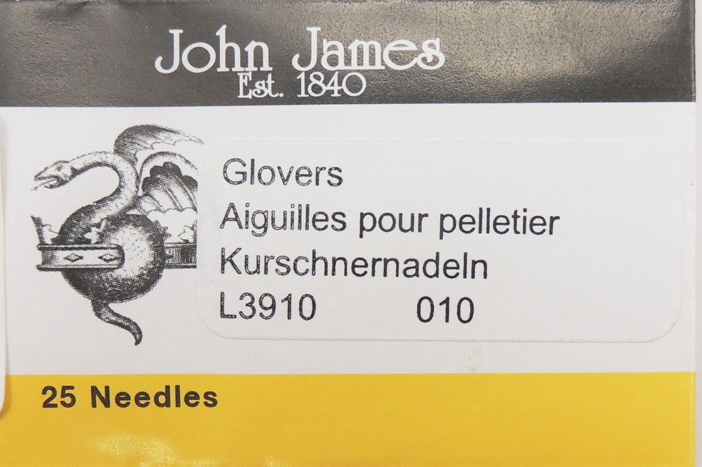 Size 10 Glovers Needles (25 pc)
