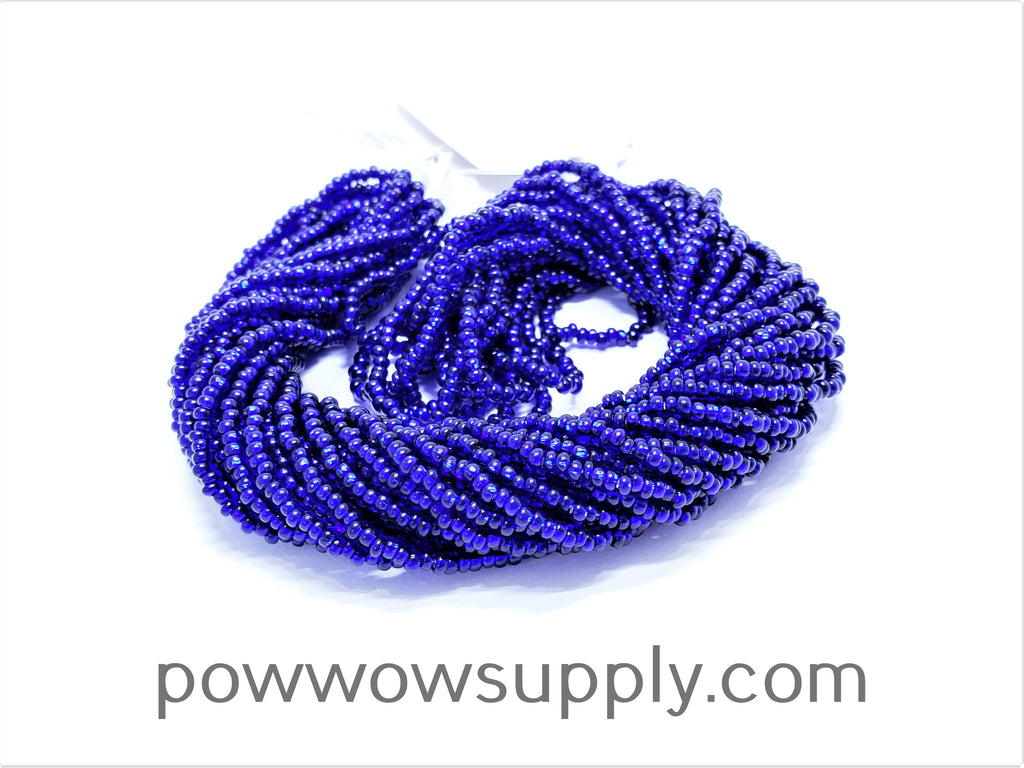10/0 Seed Beads Silver Lined Cobalt