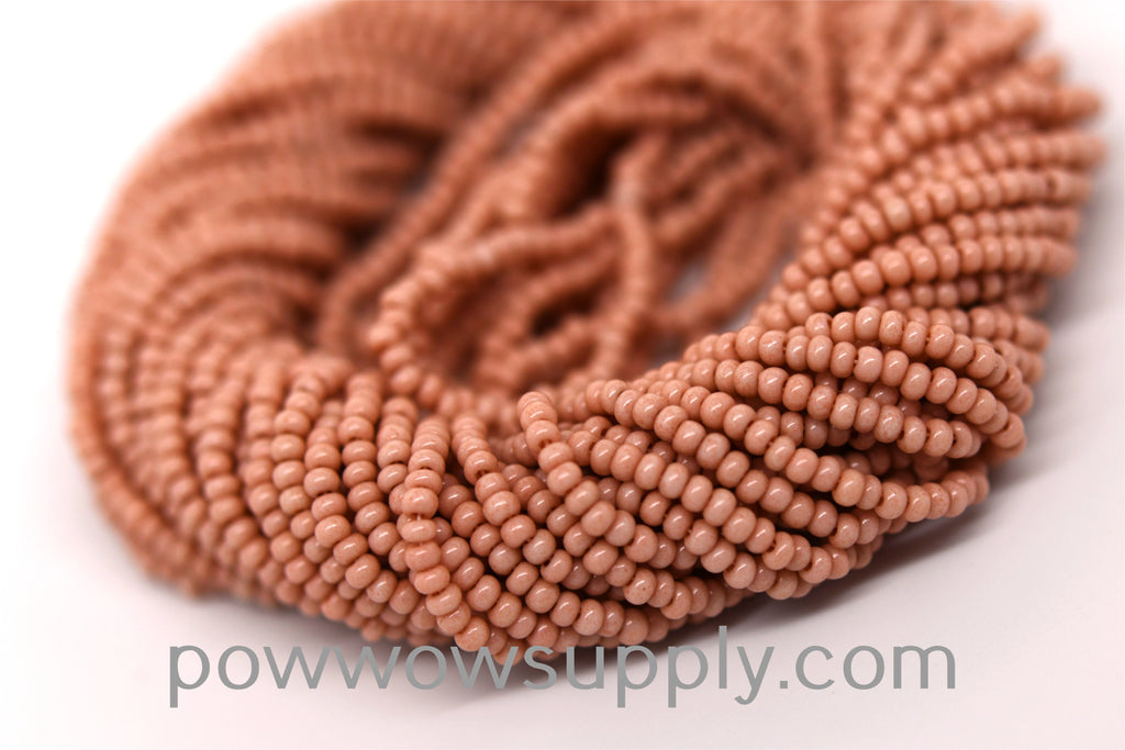 10/0 Seed Beads Opaque Cheyenne Pink