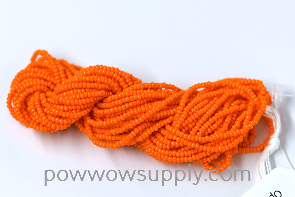 11/0 Seed Bead Opaque Orange