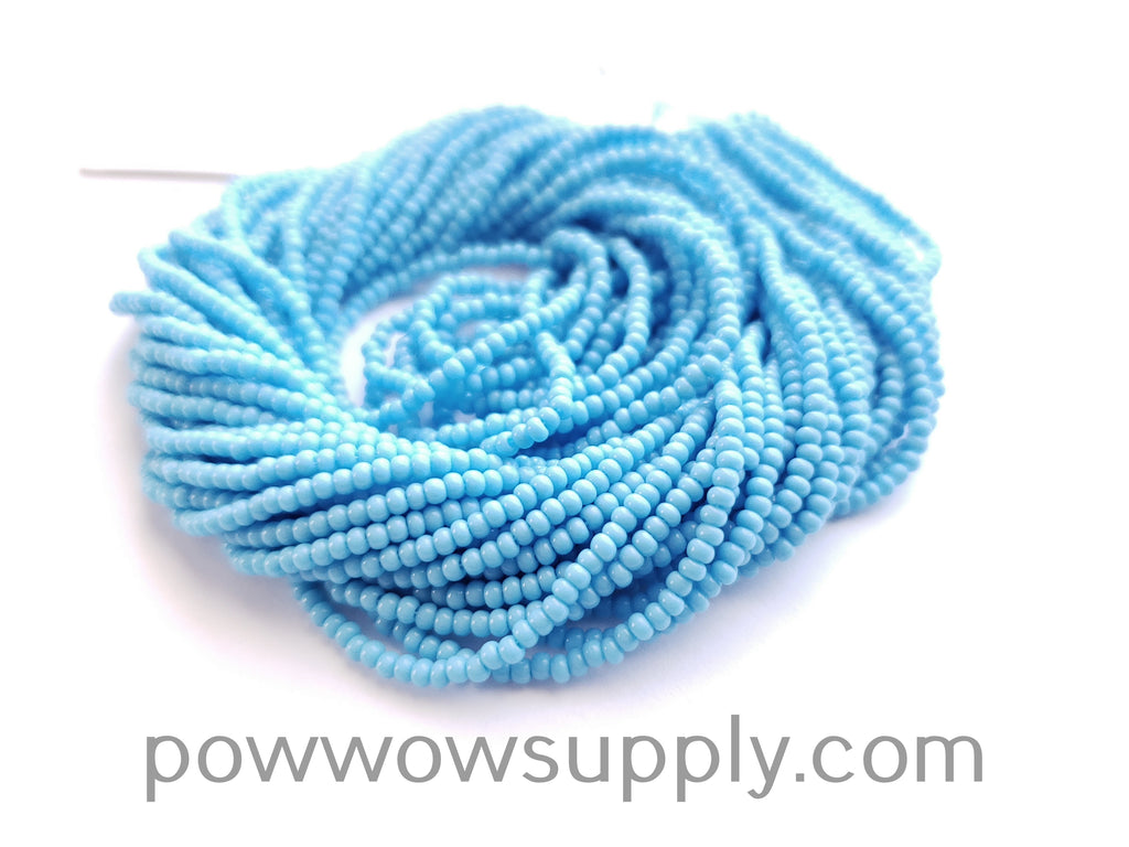 10/0 Seed Beads Opaque Light Turquoise