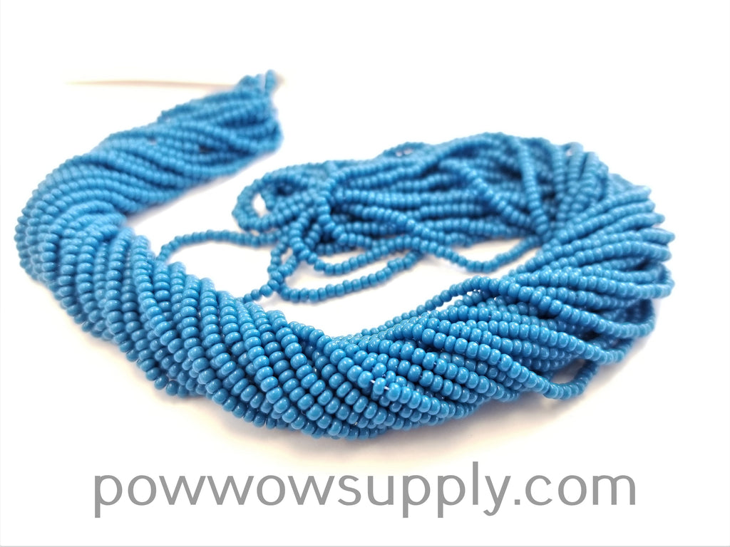 11/0 Seed Bead Opaque Teal Blue